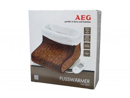 Vyhřívací bota AEG FW 5645 hnědá