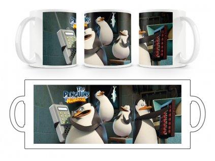 Hrnek hrníček Tučňáci Madagaskar 11