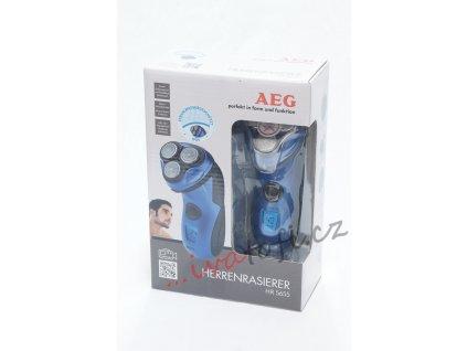 Holicí strojek AEG HR 5655 modrý