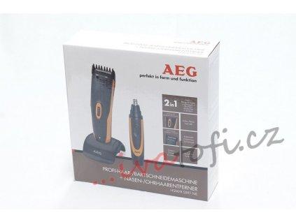 Zastřihovač vlasů a vousů AEG HSM/R 5597