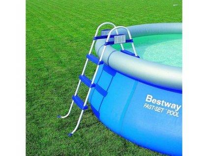 BESTWAY 58330 bezpečnostní schůdky k bazénu 1,07 m