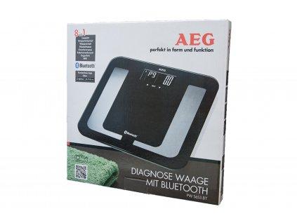Osobní váha AEG PW 5653BK černá/sklo