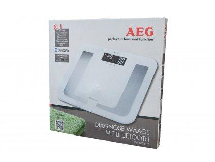 Osobní váha AEG PW 5653 WH BT bílá