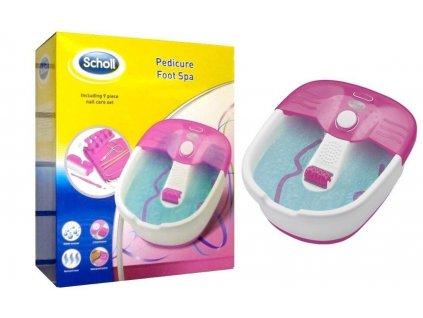 Perličková masáž nohou masážní přístroj whirpool Scholl DRFB7132PE2
