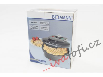 Vaflovač Bomann WA 5018 CB černý