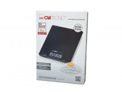 Kuchyňská digitální váha Clatronic KW 3626 černá