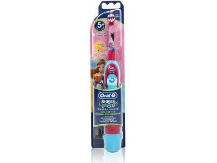 Dětský kartáček na zuby bateriový Princezna ORAL-B DB4510K