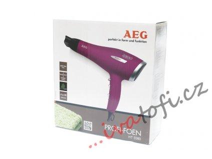 Profi fén na vlasy 2300 W AEG HT 5580 fialový