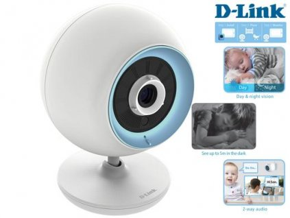 D-Link DCS-820L EyeOn Baby Monitor Junior Plus chůvička Wi-Fi