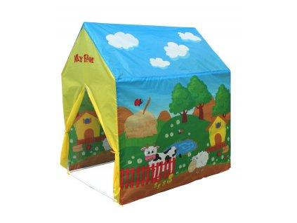 Dětský stan domek 95x72x102 cm 8706