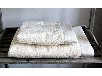 Bambusová osuška Sweet Home Andropol STYLE 1 ks krémová