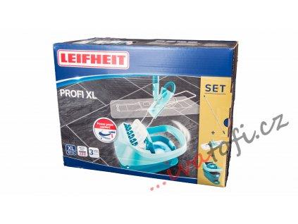 Leifheit 55077 podlahový mop Profi vědro Profi s nášlapným ždímáním