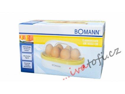 Vařič vajec Bomann EK 5022 CB Vanilla
