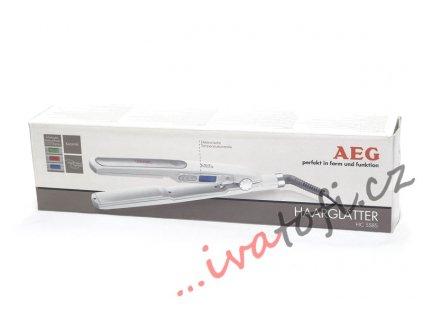 Žehlička na vlasy AEG HC 5585 bílá