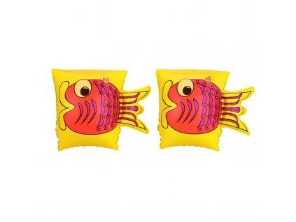 Nafukovací dětské rukávky žluté Bestway 32062 23x15cm