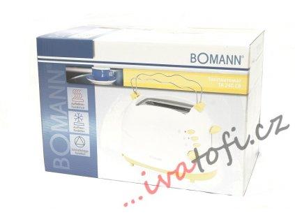 Topinkovač Bomann TA 240 bílo-vanilkový