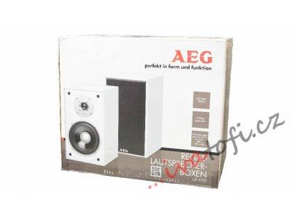 Regálové reproduktory AEG LB 4720 bílé