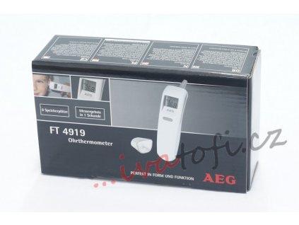 Digitální teploměr AEG FT 4919