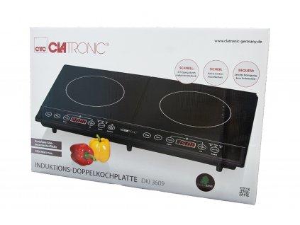 Dvouplotýnkový indukční vařič Clatronic DKI3609