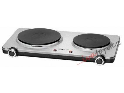 Dvouplotýnkový vařič Clatronic DKP 3668