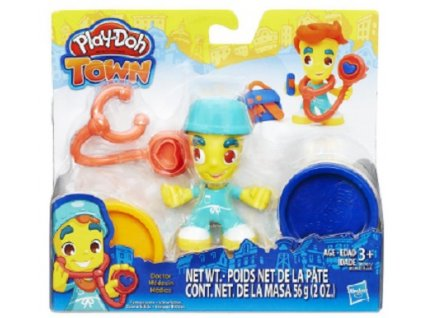 Play-Doh Hasbro TOWN figurka - doktor