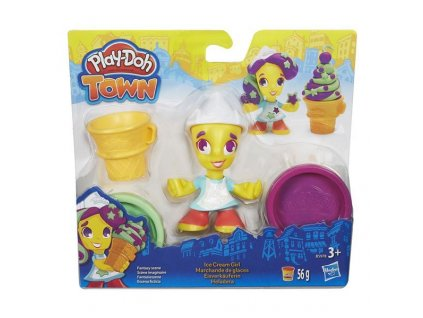 Play-Doh Hasbro TOWN figurka - zmrzlinářka