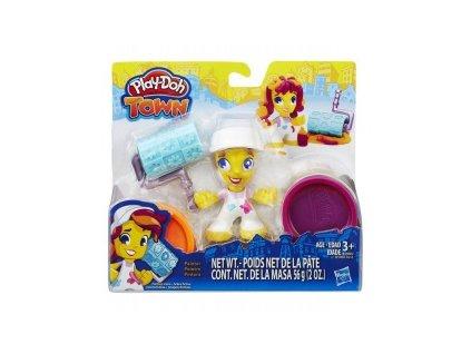 Play-Doh Hasbro TOWN figurka - malíř