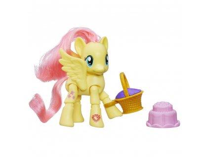 Herní set - My Little Pony Hasbro poník s kloubovými body Fluttershy