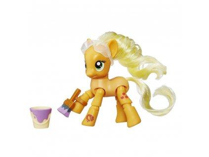 Herní set - My Little Pony Hasbro poník s kloubovými body Applejack