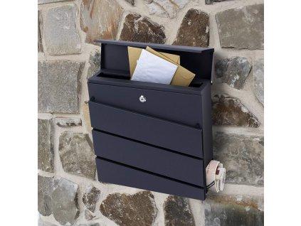 Poštovní schránka antracit SN 3645