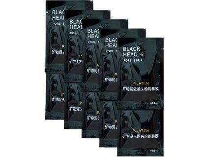 Pilaten Black Head černá slupovací maska 10x6g