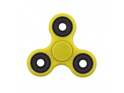 Fidget spinner - antistresová hračka žlutá