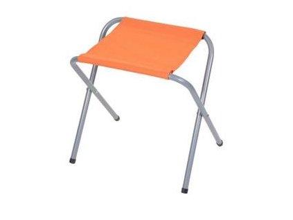 Skládací židle pro kempování oranžová