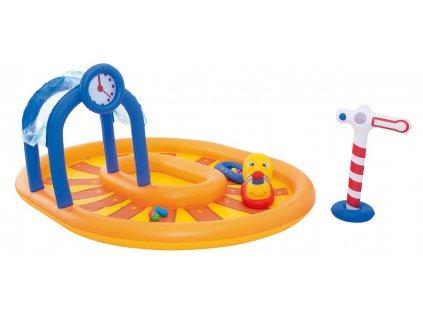 Dětský nafukovací bazének vláček Bestway 53061