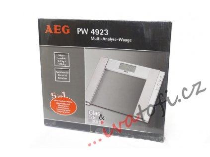 Osobní digitální váha AEG PW 4923