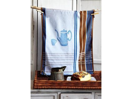 Kuchyňská utěrka Sweet Home Džbánek 50x70 cm