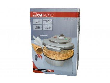 Výrobník na zmrzlinové kornouty kornoutovač Clatronic HA 3494