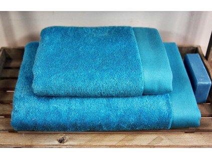 Bambusový ručník Sweet Home Andropol STYLE 1 ks sv.modrý