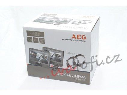 Přenosný DVD přehrávač AEG DVD- 4552LCD se dvěma monitory