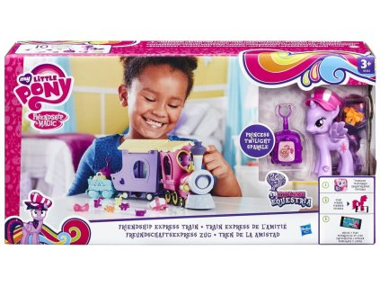 Hasbro My Little Pony vlak Friendship Express