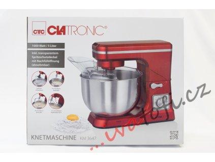 Kuchyňský robot Clatronic KM 3647 červený
