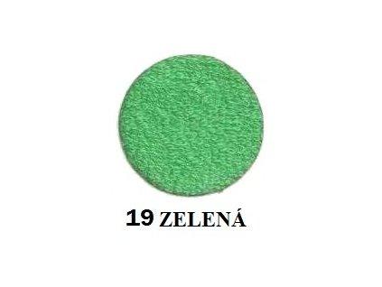 Froté prostěradlo 90/200 cm barva zelená