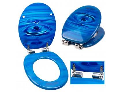 WC sedátko prkýnko s plynulým sklápěním SN 8908