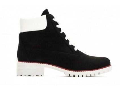 Dámské kotníkové boty trapery Vices 1169-1 černé