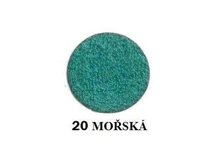 Froté prostěradlo 90/200 cm barva mořská