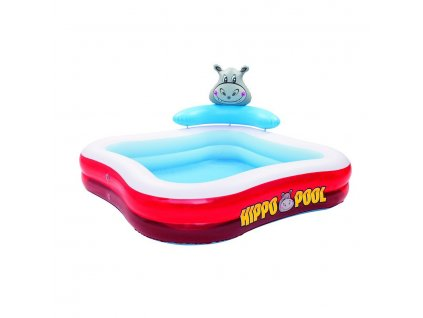 Bestway 53050 Nafukovací bazén Hroch 201x201x91 cm