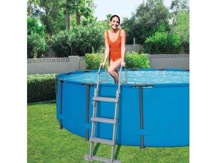 BESTWAY 58331 bezpečnostní schůdky k bazénu 1,22 m