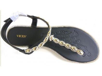 Dámské sandály Vices 4090-1 černé