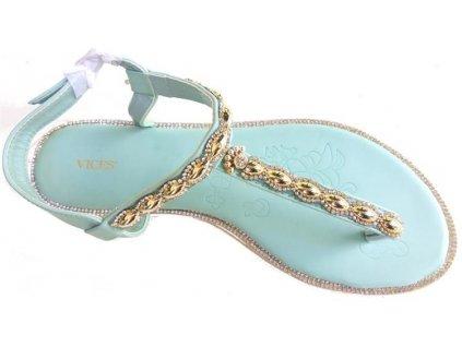 Dámské sandály Vices 4090-11 modré