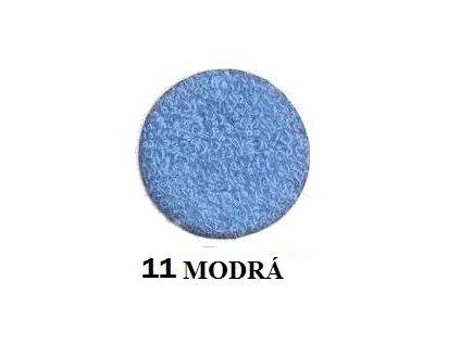 Froté prostěradlo 90/200 cm barva modrá